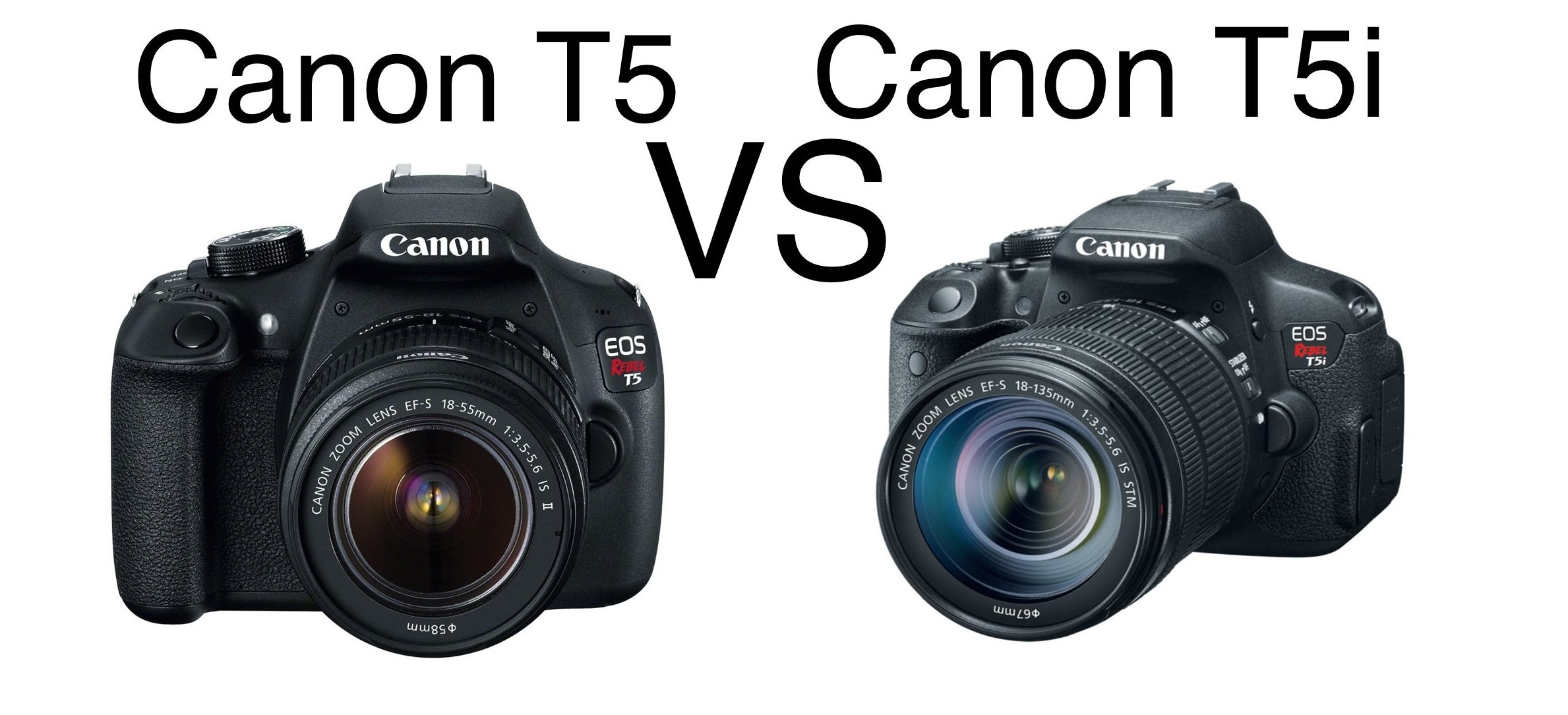 The Canon T5 vs T5i Reviews of 2019