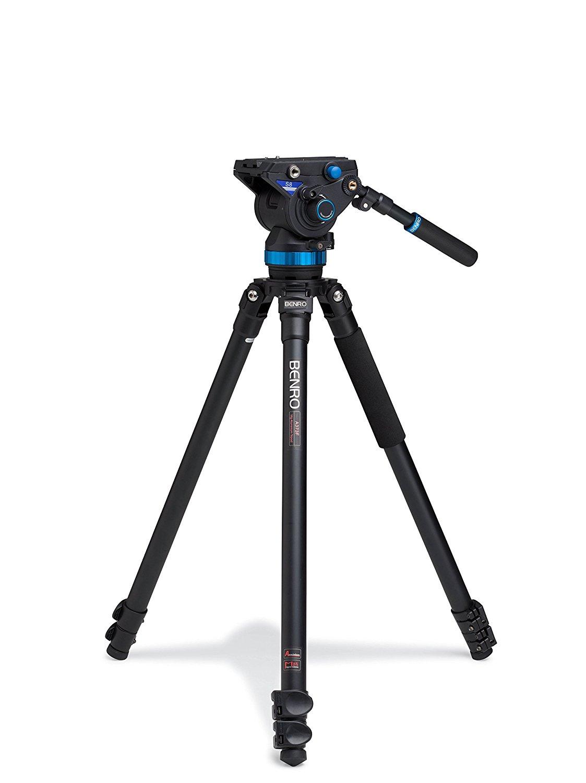 Benro S8 Single Leg Aluminum Video Kit (A373FBS8)